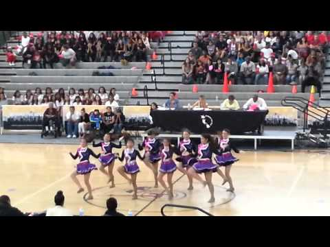San Fernando Middle school Drill Competition
