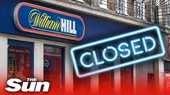 Why is William Hill closing 700 betting shops?