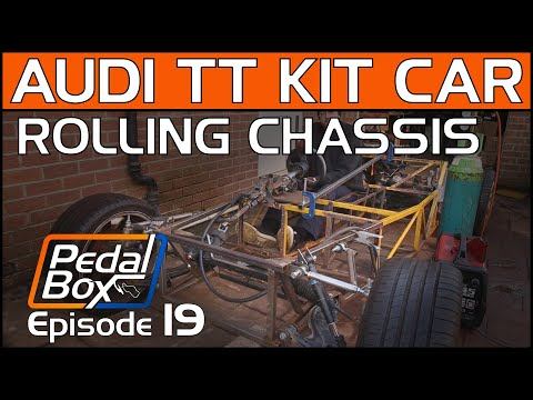 Rolling Chassis - PedalBox Episode 19   Mid-Engine Audi Kit Car