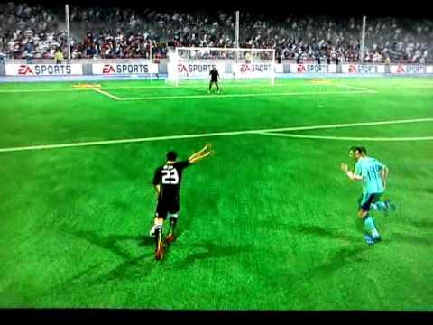 FIFA 11 / Mesut Özil Wonderful Shot.