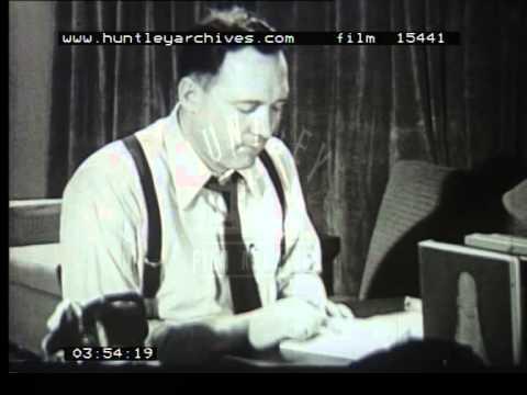 Door to door salesman, 1950's - Film 15441