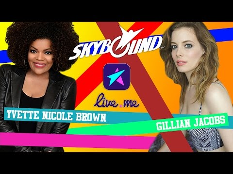 Yvette Nicole Brown & Gillian Jacobs Live!