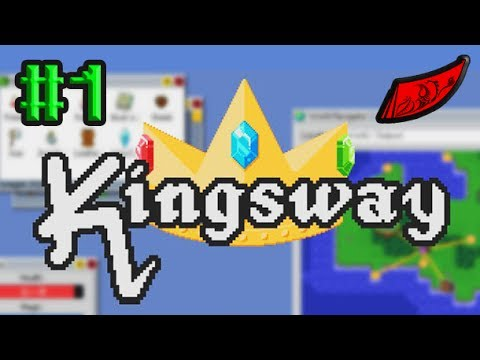 InkEyes Plays: Kingsway #1 - Roguelike Operating System Bonanza!