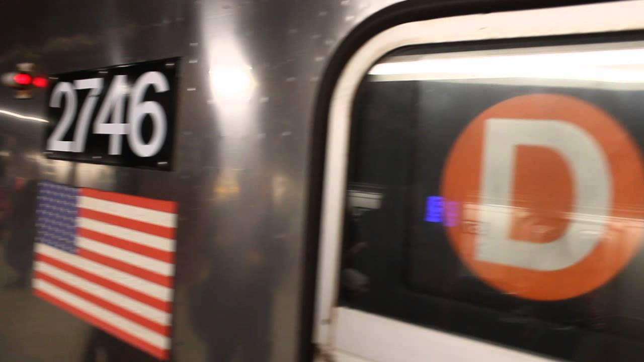 A quick ride on MTA NYC Subway R68 2746 from 47th St to 42nd Street