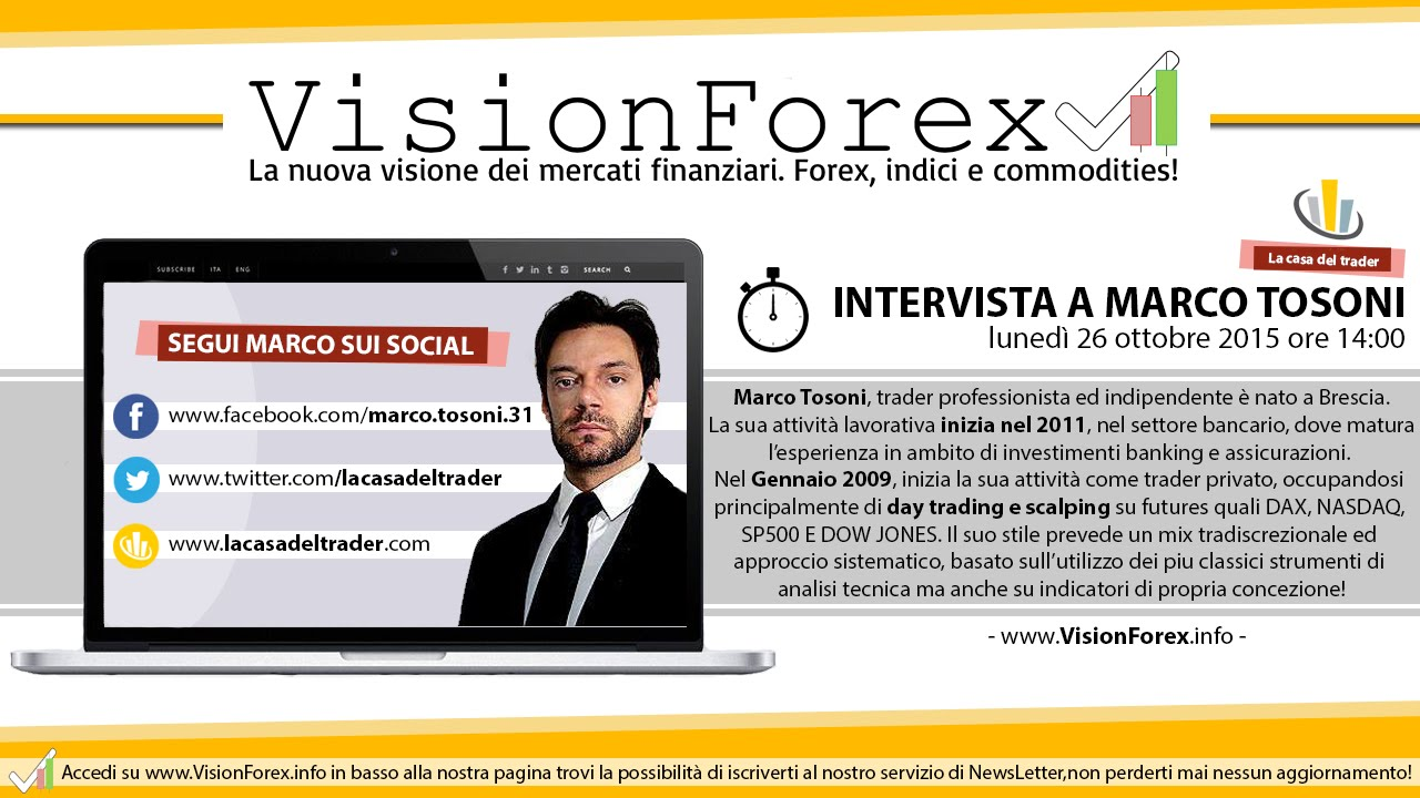 Marco tosoni forex contest