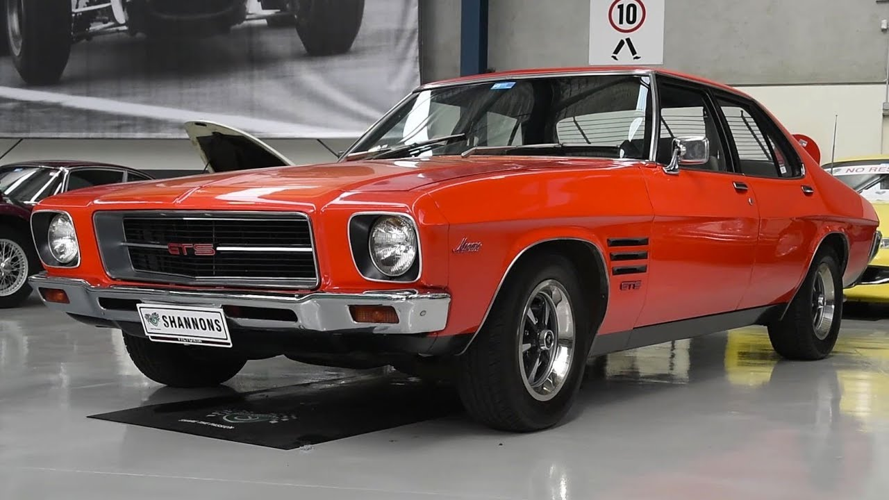 1973 Holden HQ Monaro 308 Sedan - 2017 Melbourne Nov Auction