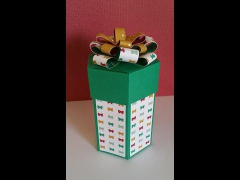 Stampin'Up! Hexagonal gift box