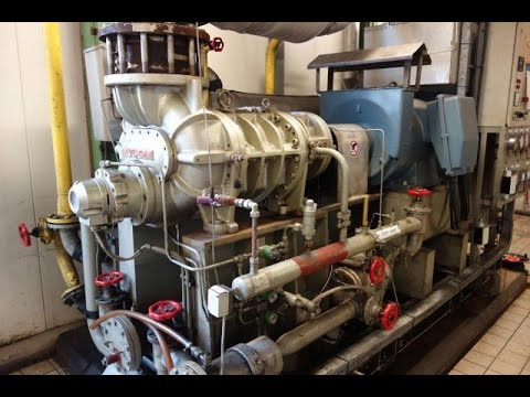Screw Compressor Mycom 250LUD-MX - NH3/Ammonia