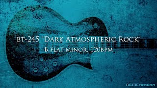 Dark Atmospheric Rock Ballad Backing Track in Bbm | BT-245