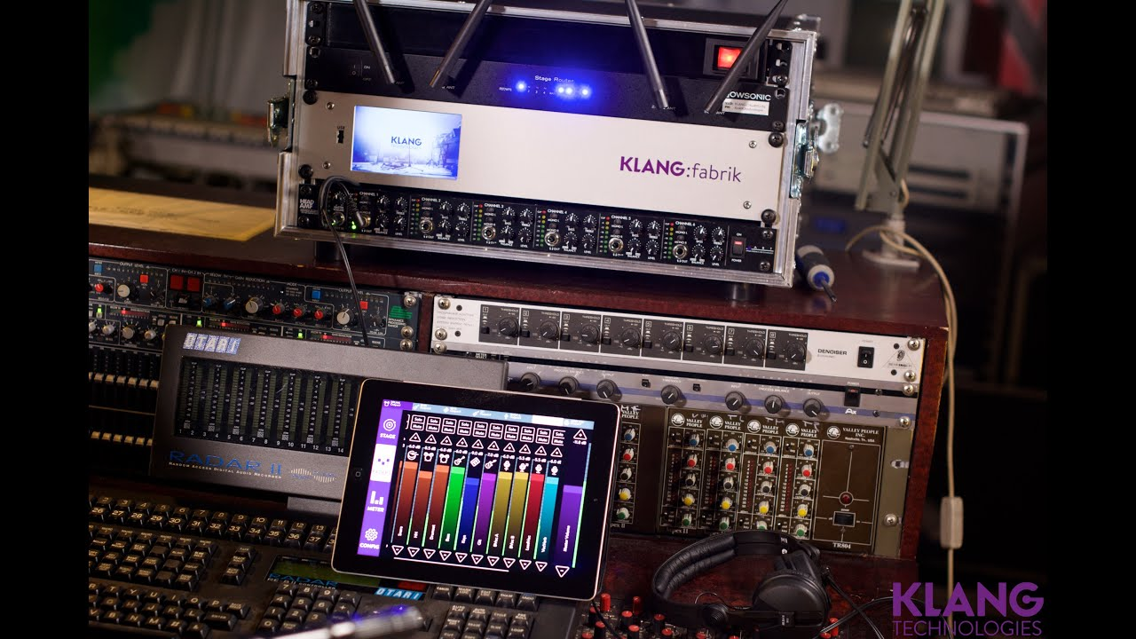 KLANG - 3D In-Ear Mixing with Intuitive Control