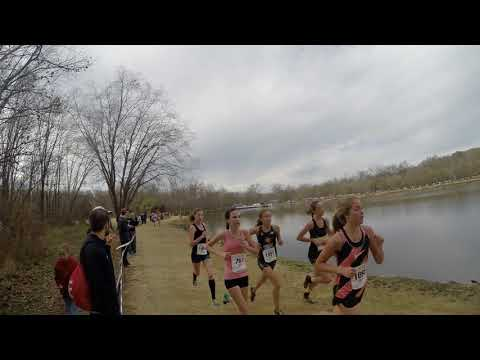 Footlocker South Girls Fresh Soph Race Ariel Ellis Charlotte NC 11 25 17