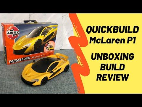 airfix-quickbuild---mclaren-p1---unboxing-&-build---kit-model---great-for-kids-&-young-modellers