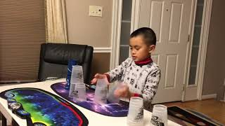 Timothy's First Stacks as an 8 Year Old