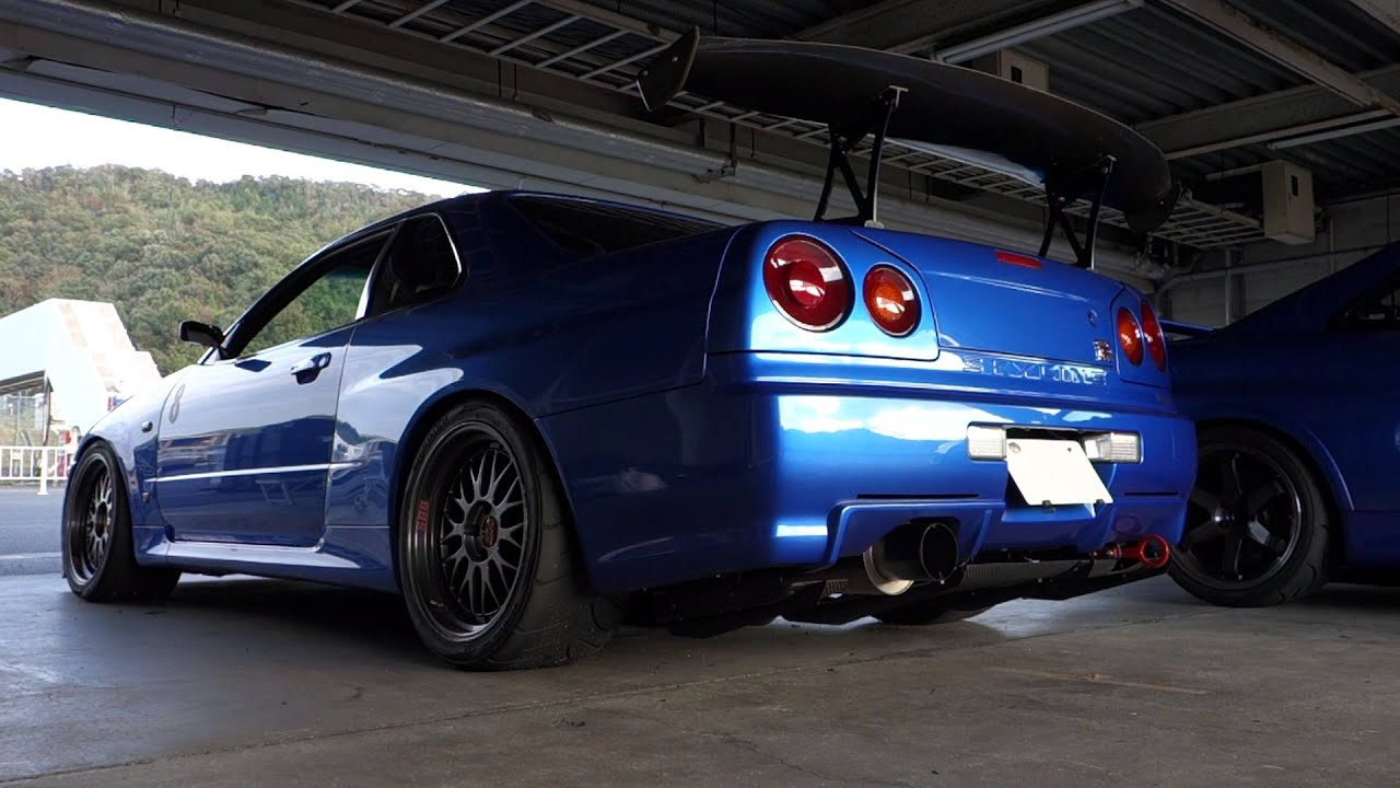 Fast And Furious 7 Wallpaper Hd Exhaust Sound R34 Gt R Youtube