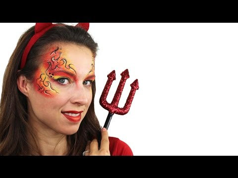 Easy Halloween Devil Makeup Tutorial thumbnail