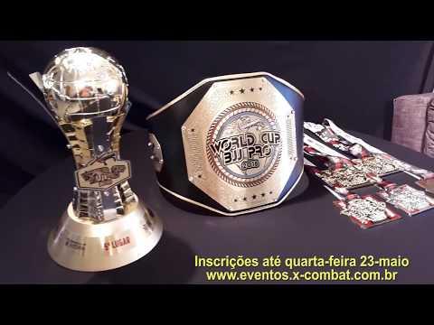 VIDEO PREMIAÇÃO X-COMBAT WORLD CUP BJJ PRO 2018