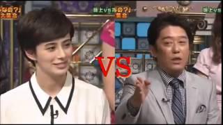 ホラン千秋VS坂上忍