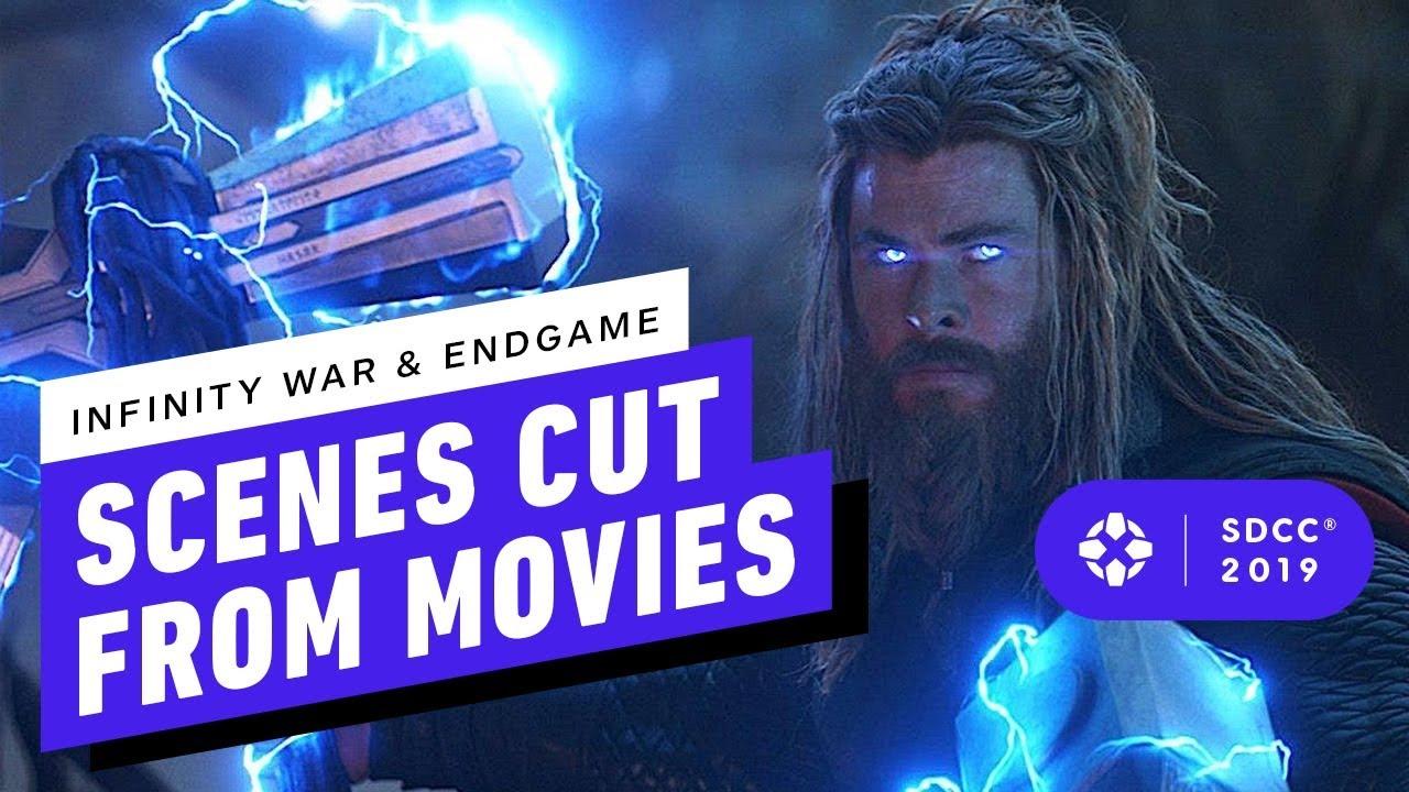 Alles, was von Avengers: Endgame und Avengers: Infinity War - Comic Con 2019 abgeschnitten wurde + video