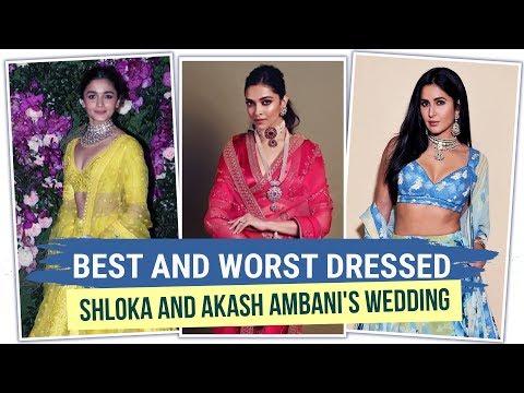 Deepika Padukone, Alia Bhatt: Best and worst dressed at Shloka & Akash Ambanis wedding   Bollywood