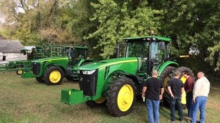John Deere 8130 and 8260R Tractors Sold on Iowa Farm Auction