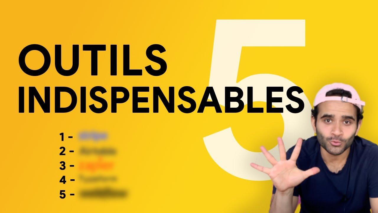 5 Outils #NoCode pour créer votre side business en 24h ⏳