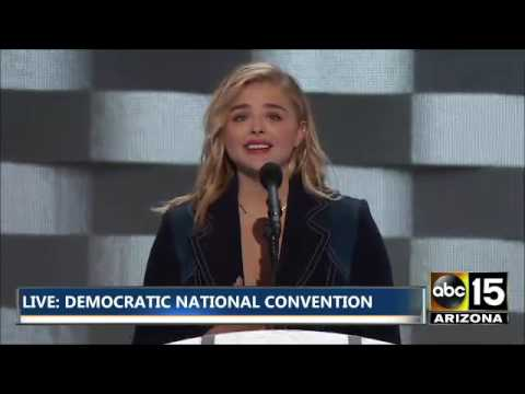 FULL: Actress Chloe Grace Moretz - Democratic National Convention