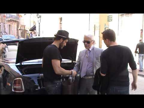 Karl Lagerfeld In St Tropez