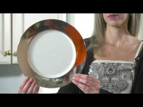 Heavy Duty Clear Wedding Plastic Plates