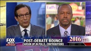 Post-Debate Bounce for Ben Carson