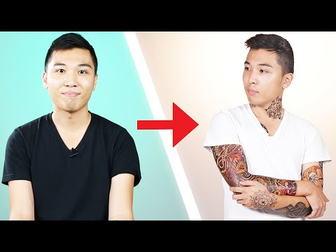 Download Youtube: I Covered Myself With Tattoos For A Day
