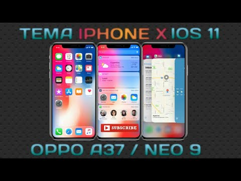 download tema iphone ios 11 for oppo a37