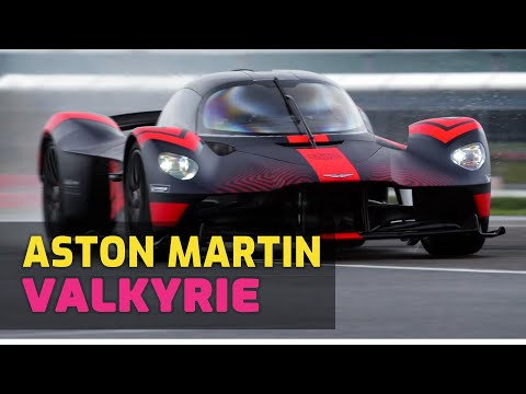 Aston Martin CEO Drives The New 1,160HP Valkyrie Hypercar