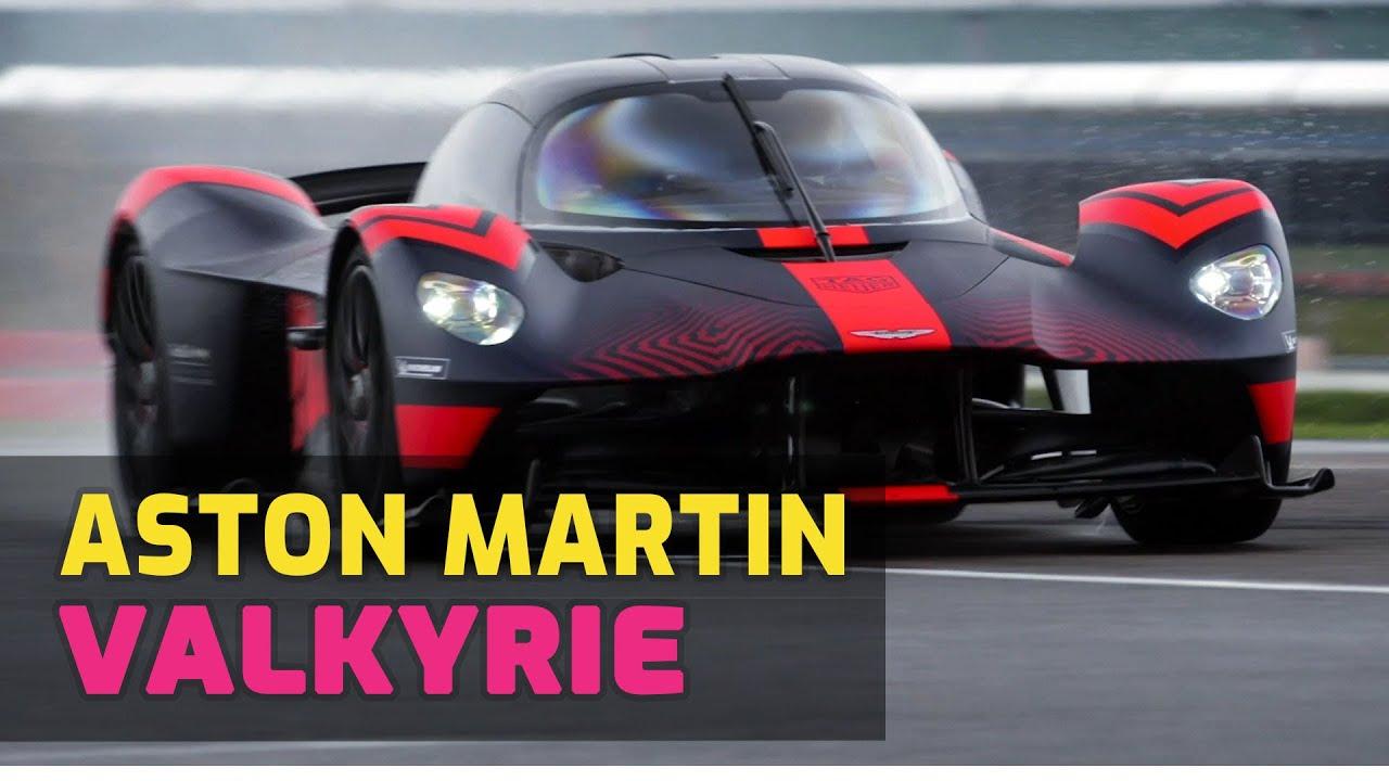 Aston Martin Ceo Drives The New 1 160hp Valkyrie Hypercar Youtube