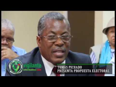 Tomás Pichardo presenta propuesta electoral ADP