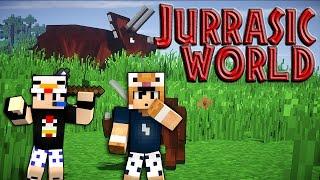 Công viên khủng long #3 : Lạc vào thế giới mới lạ..l Minecraft