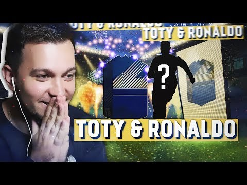 ПОЙМАЛ TOTY & РОНАЛДУ в HAPPYGOLUCKY  FIFA 18