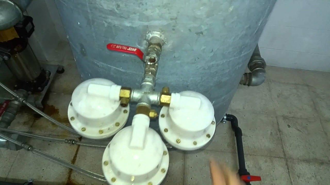 Reparaci n transitoria grupo presi n con inyector de aire Membrana de hidroneumatico