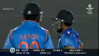 New Zealand vs India 3rd One day Last Over Video Match Tie, farehad islam..comilla