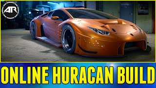 Need For Speed Online : WIDEBODY HURACAN BUILD (Drift & Racing Online)