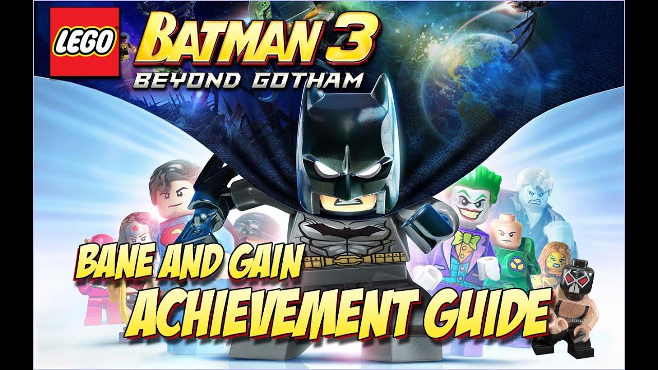 Lego Batman 3: Beyond Gotham Bane and Gain (Transform into ...