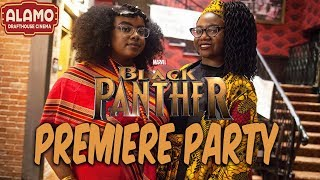 WAKANDA FOREVER: BLACK PANTHER PREMIERE PARTY!