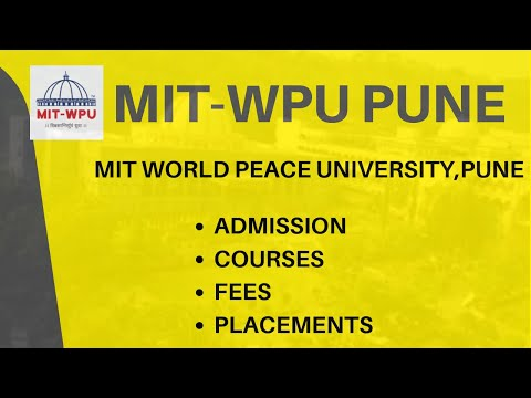 MIT-WPU | ADMISSION | COURSES | FEES | PLACEMENTS