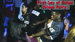 Repeat youtube video First Day of College: Crazy Back to School Party at CSUN