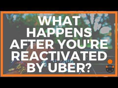What Happens After You're Re-activated by Uber? [Jay Presents] - YouTube