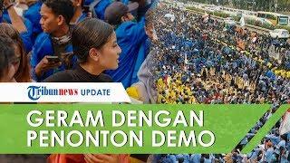 Geram dengan Para Penonton Demo di Depan DPR, Awkarin Mereka Bukan Sirkus