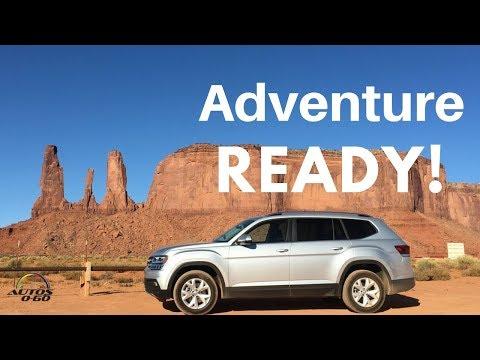 2018 Volkswagen Atlas - 2018 Volkswagen Tiguan Arizona Roadtrip