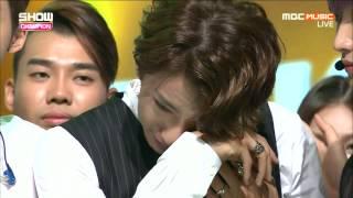 150819 쇼챔피언 B1A4 1위발표+앵콜