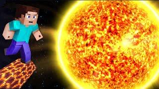 CAN I SURVIVE IN SUN PLANET ?? Minecraft TikTok Hacks Challenge