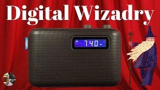Jensen SR-50 AM FM Digital Portable Radio Unboxing & Review