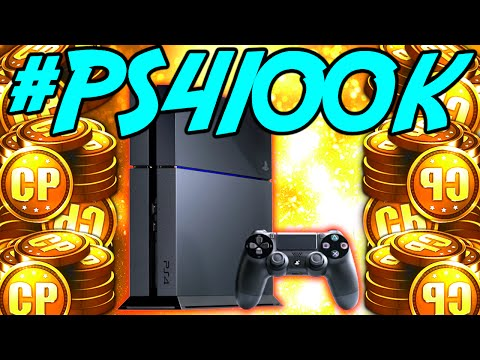 PS4 + 100k COD Point GIVEAWAY! (Black Ops 3 Gameplay) #PS4100k